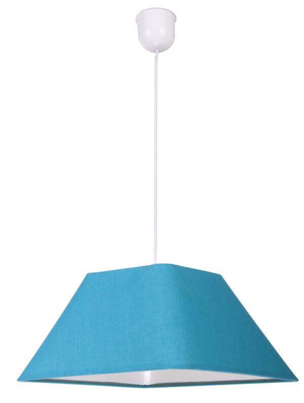 ROBIN LAMPA WISZĄCA 35 1X60W E27 TURKUS  PROMO (ABAŻUR 77-01832+LINKA 85-89369) - 31-03300