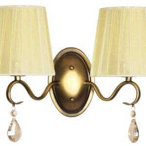 FIESTA LAMPA KINKIET 2X40W E14 - 22-04437