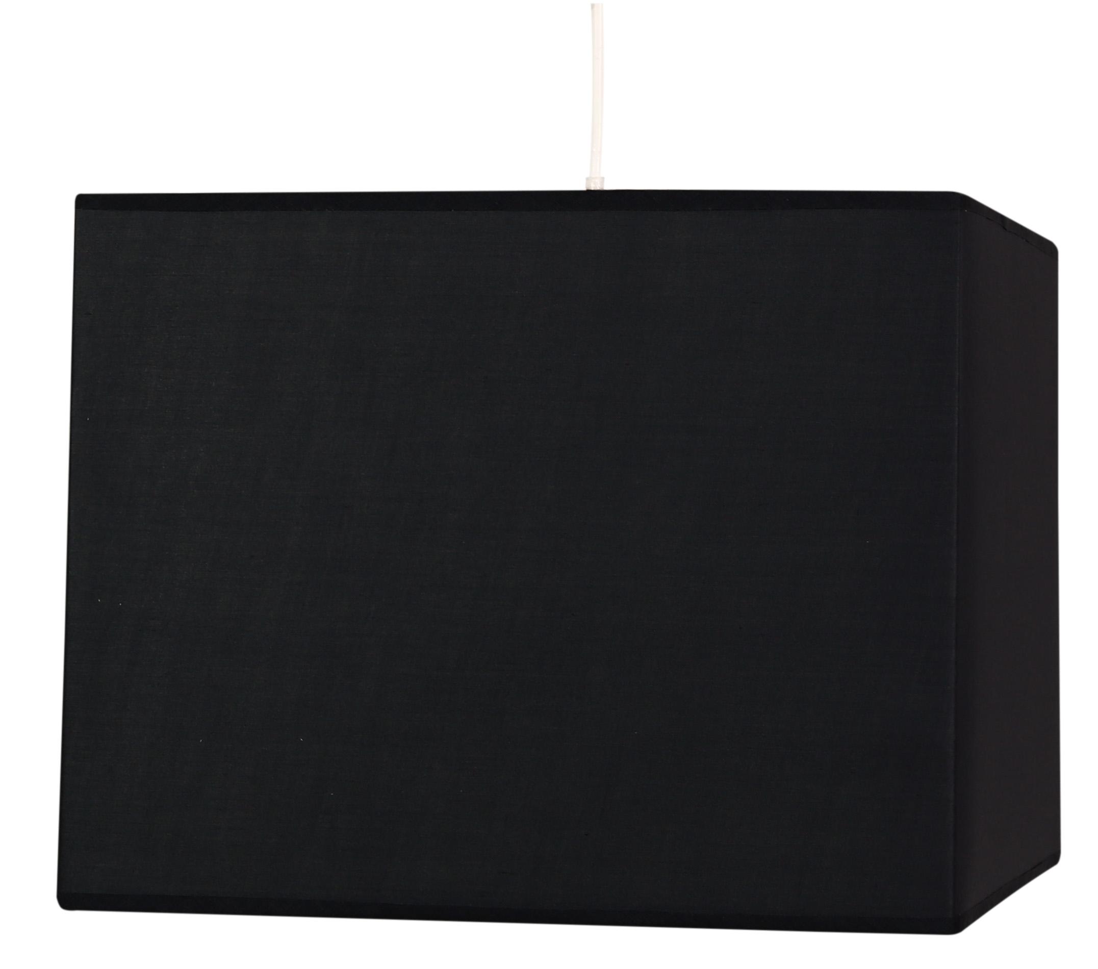 BASIC LAMPA WISZĄCA 30 1X60W E27 CZARNY - 31-06073