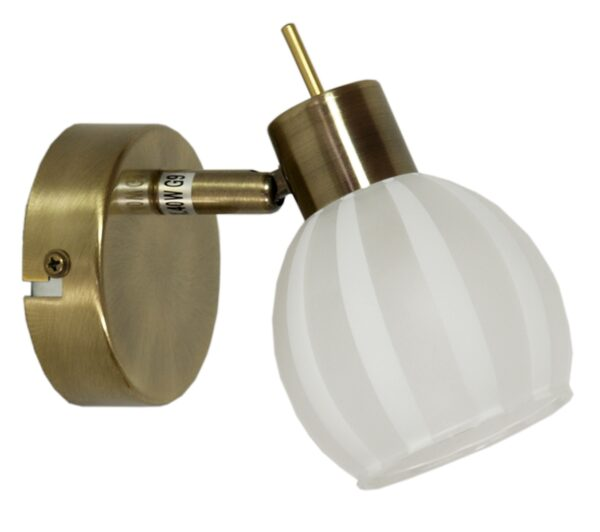 BARS LAMPA KINKIET 1X40W G9 PATYNA - 91-06745