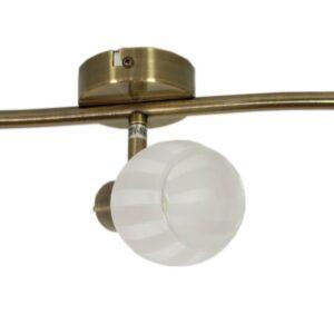 BARS LAMPA SUFITOWA LISTWA 3X40W G9 PATYNA - 93-06769