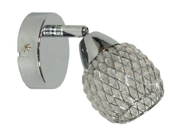 CLEAR LAMPA KINKIET 1X40W G9 TRANSPARENTNY - 91-06868