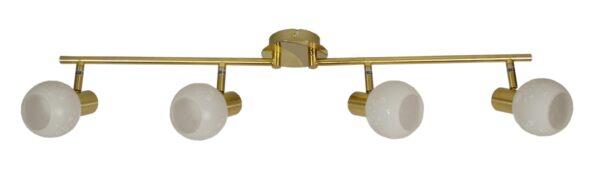 AVILA LAMPA SUFITOWA LISTWA 4X40W E14 MOSIĄDZ - 94-07124
