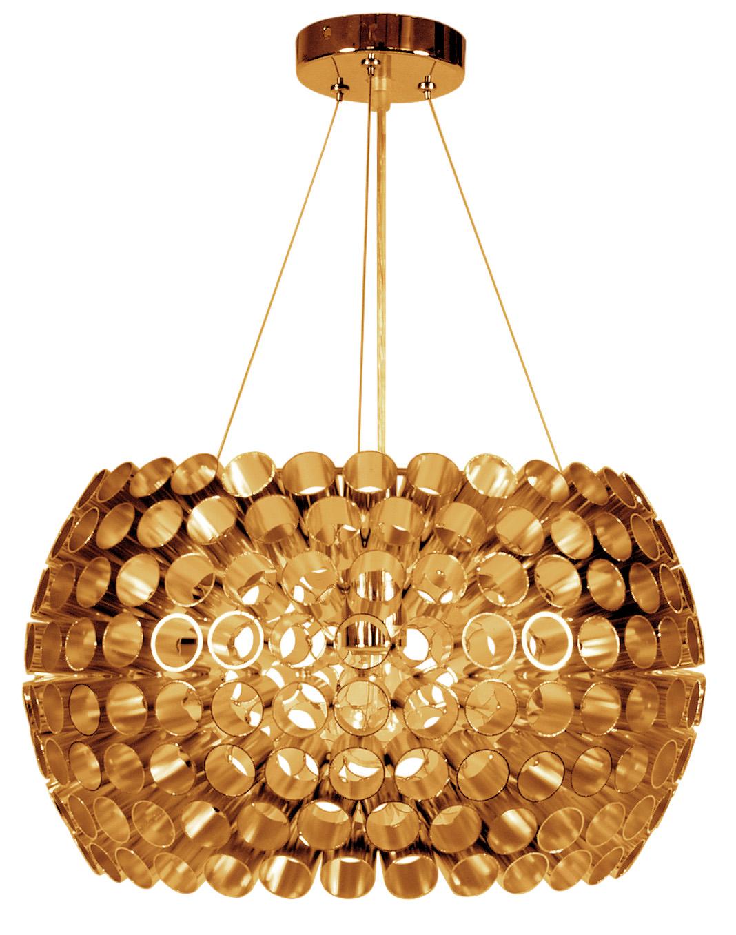 ABROS LAMPA WISZĄCA 40 1X60W E27 MIEDZIANY - 31-09067