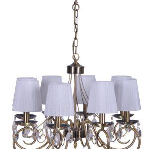 DYNASTY LAMPA WISZĄCA 8X40W E14 PATYNA - 38-09111