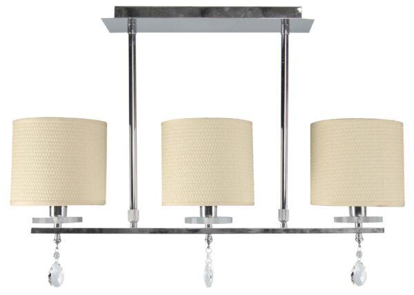 ESTERA LAMPA SUFITOWA 3X40W E14 CHROM - 33-11510