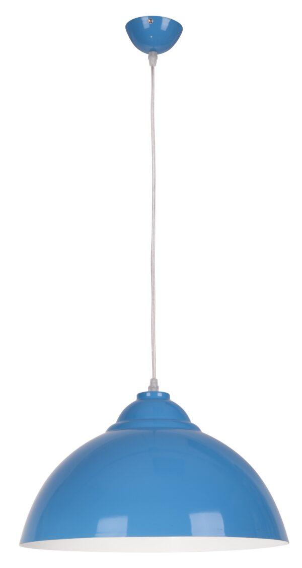 UNI LAMPA WISZĄCA 38 1X60W E27 NIEBIESKI - 31-13330