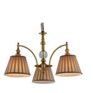 AUSTIN LAMPA WISZĄCA 3X40W E14 PATYNA - 33-13842