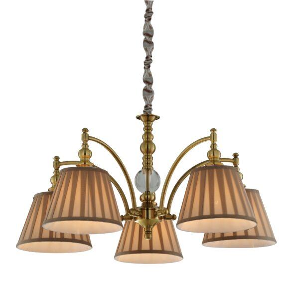 AUSTIN LAMPA WISZĄCA 5X40W E14 PATYNA - 35-13859