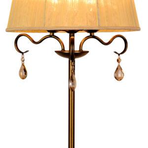FIESTA LAMPA GABINETOWA 3X40W E14 PATYNA - 41-15273