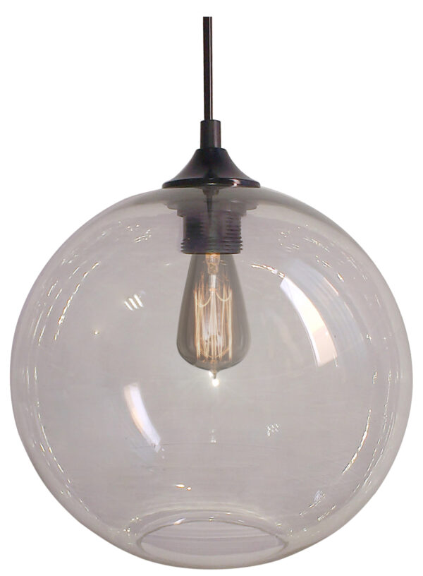 EDISON LAMPA WISZĄCA 25 1X60W E27 TRANSPARENTNY + ŻARÓWKA - 31-21403