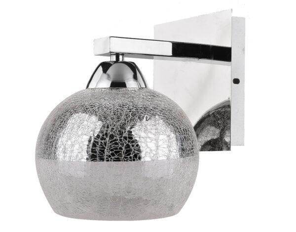 CROMINA LAMPA KINKIET 1X60W E27 CHROM - 21-22240