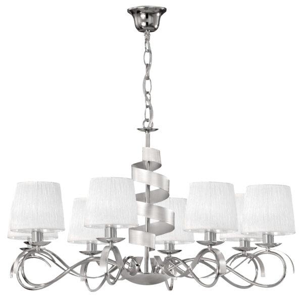 DENIS LAMPA WISZĄCA 8X40W E14 CHROM - 38-23452