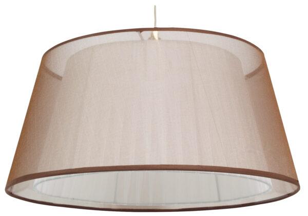 CHARLIE LAMPA WISZĄCA 45 1X60W E27 BRĄZOWY - 31-24794