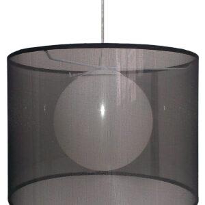 CHICAGO LAMPA WISZĄCA 37 1X60W E27 CZARNY - 31-24879