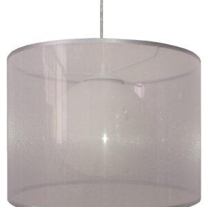 CHICAGO LAMPA WISZĄCA 37 1X60W E27 SREBRNY - 31-24916