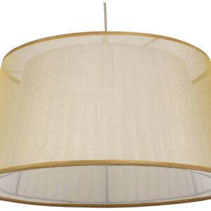 CHARLIE LAMPA WISZĄCA 45 1X60W E27 ZŁOTY - 31-24961