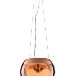 GEMO LAMPA WISZĄCA 30 3X40W G9 SZKLANY ZŁOTY - 31-25104
