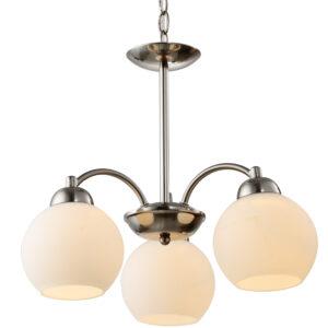 TOBAGO LAMPA WISZĄCA 3X60W E27 SATYNA - 33-25456
