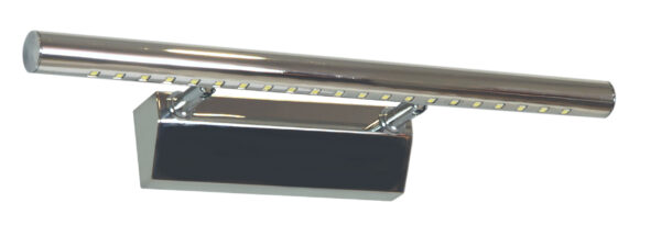 FORTE LED 2 LAMPA KINKIET 5W LED RURKA OKRĄGŁA CHROM - 20-27016
