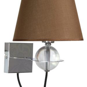 TESORO LAMPA KINKIET 1X40W E14 BRĄZOWY - 21-29539