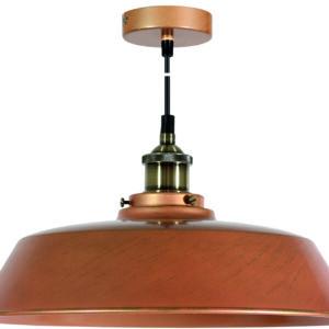 TILA LAMPA WISZĄCA 36 1X60W E27 KLOSZ WYSOKI  MIEDZIANY - 31-31358