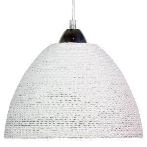 BRAID LAMPA WISZĄCA 230 1X60W E27 BIAŁY - 31-32751