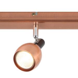 CROSS LAMPA SUFITOWA LISTWA 3X50W GU10 MIEDZIANY - 93-32782