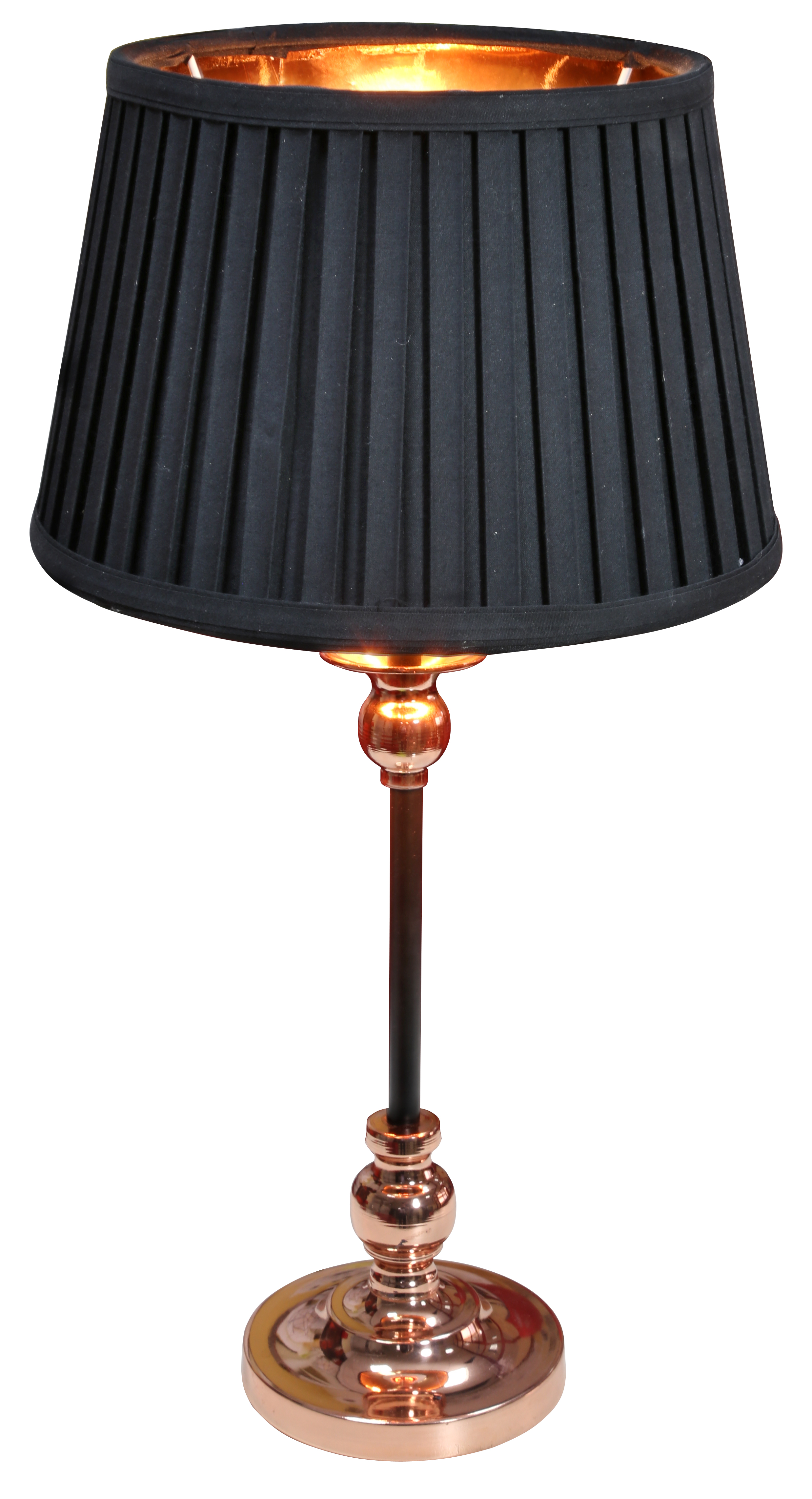 AMORE LAMPA GABINETOWA 1X60W E27 STOŻEK CZARNY - 41-38777