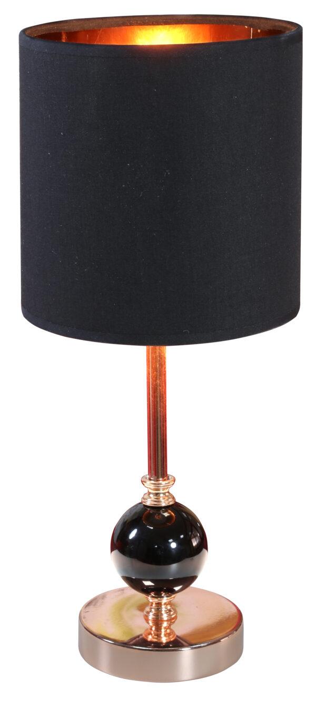 MELBA LAMPA GABINETOWA 1X40W E14 CZARNY - 41-38791