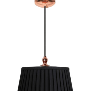 AMORE LAMPA WISZĄCA 1X60W E27 STOŻEK CZARNY - 31-39378