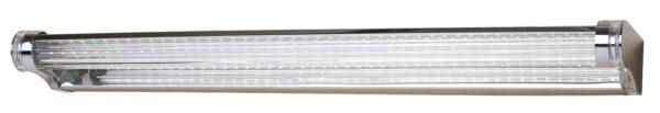 MODERNO LAMPA KINKIET 9W LED 58 CM STAL NIERDZEWNA POLEROWANA/AKRYL - 20-40794