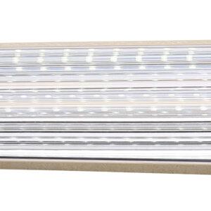 MODERNO LAMPA KINKIET 7W LED 40 CM STAL NIERDZEWNA POLEROWANA/AKRYL - 20-40800