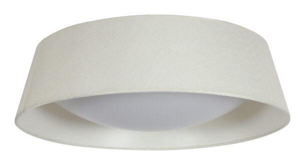 MOLA LAMPA SUFITOWA PLAFON 43 16W LED 6500K Z ABAŻUREM KREMOWY - 31-41494