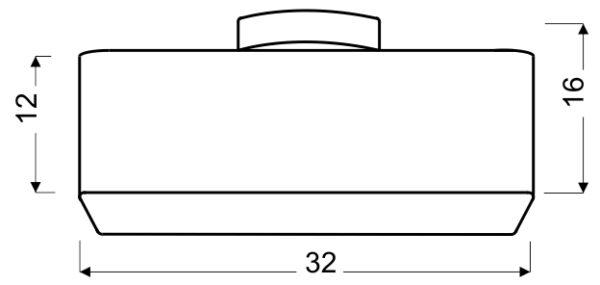 HUNTS LAMPA WISZĄCA 32X32 2X40W E27 SZARY - 31-41524