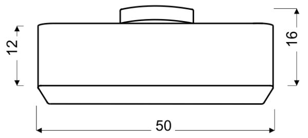 HUNTS LAMPA WISZĄCA 50X50 4X40W E27 SZARY - 31-41531