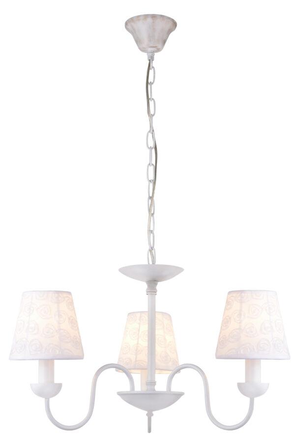 LORI LAMPA WISZĄCA 3X40W E14 BIAŁY - 33-43788