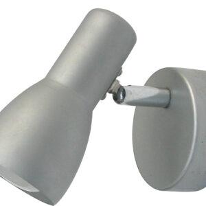PICARDO LAMPA KINKIET 1X40W E14 SZARO SREBRNY - 91-43917