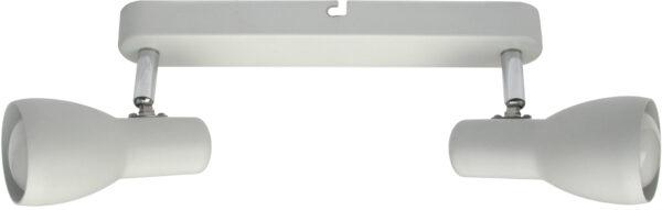 PICARDO LAMPA SUFITOWA LISTWA 2X40W E14 BIAŁY MAT - 92-44181