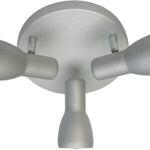 PICARDO LAMPA SUFITOWA PLAFON 3X40W E14 SZARO SREBRNY - 98-44242