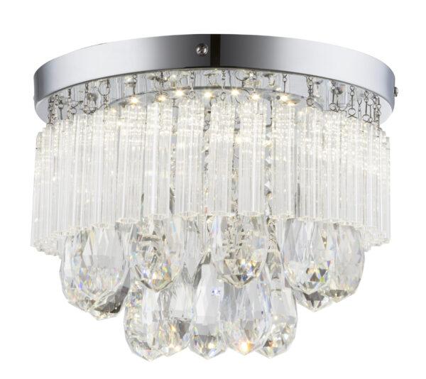 LONELLA LAMPA SUFITOWA PLAFON 12W LED CHROM - 98-44792