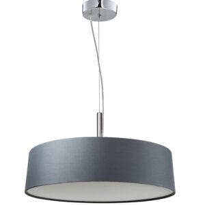 BLUM LAMPA WISZĄCA 3X60W E27 SREBRZYSTO SZARY - 31-46673