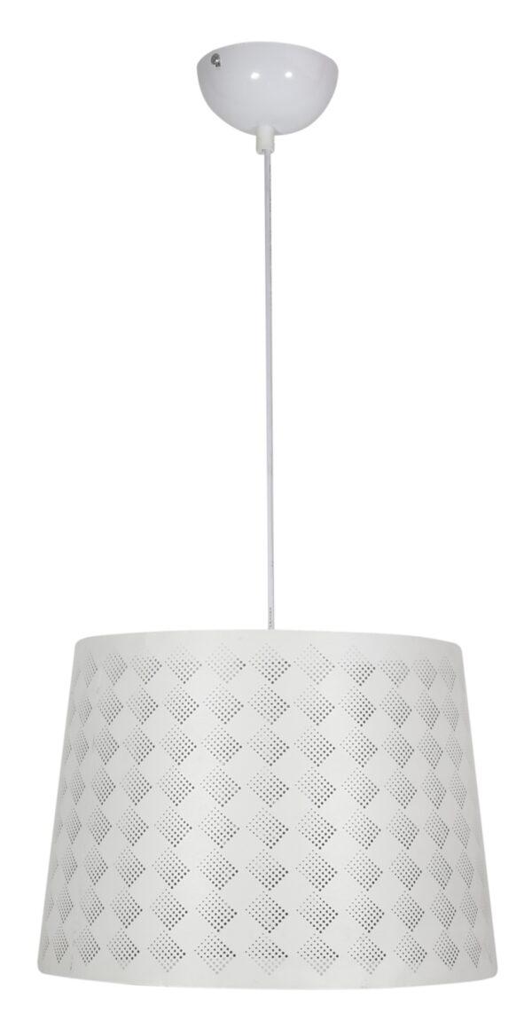 ORLANDO LAMPA WISZĄCA 35 KRATKA 1X60W E27 BIAŁY - 31-49117