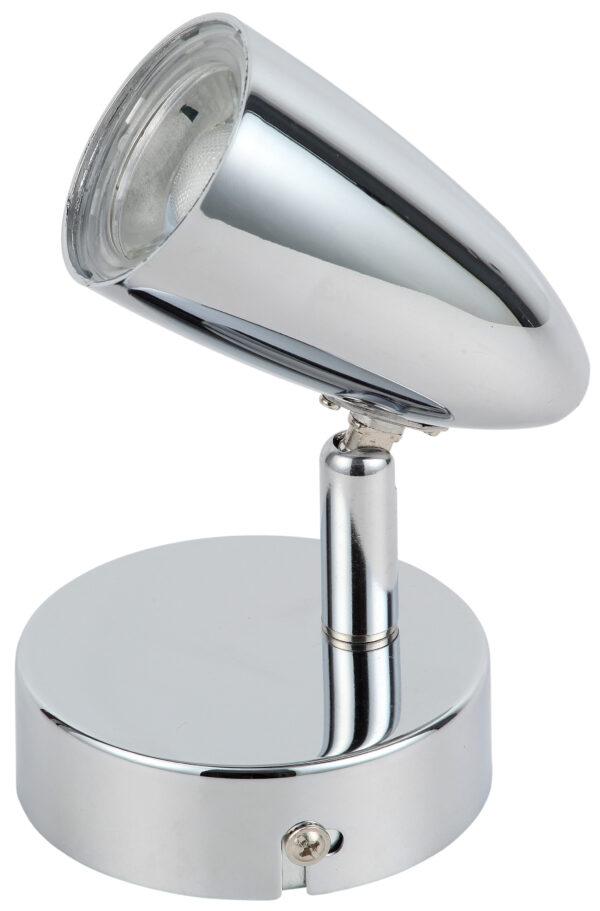 LIBERTY LAMPA KINKIET 1X4W LED CHROM - 91-49551