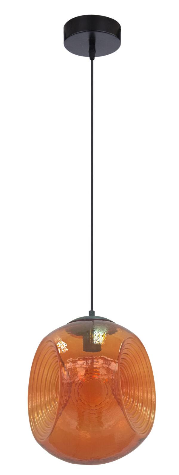 CLUB LAMPA WISZĄCA 28 1X60W E27 POMARAŃCZOWY - 31-51233