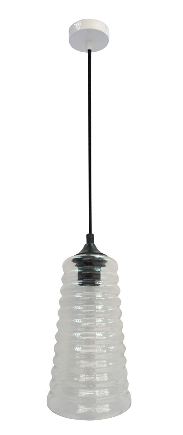 MANILA LAMPA WISZĄCA 15 1X60W E27 BEZBARWNY - 31-51240