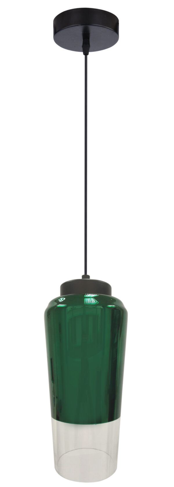 TUBE LAMPA WISZĄCA 13 1X60W E27 ZIELONY - 31-51264