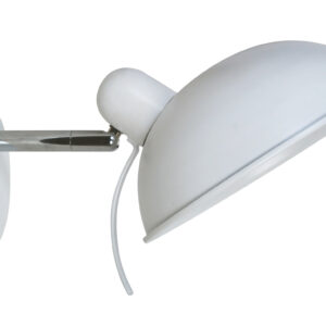 DURIO LAMPA KINKIET 1X40W E14 BIAŁY - 21-51448