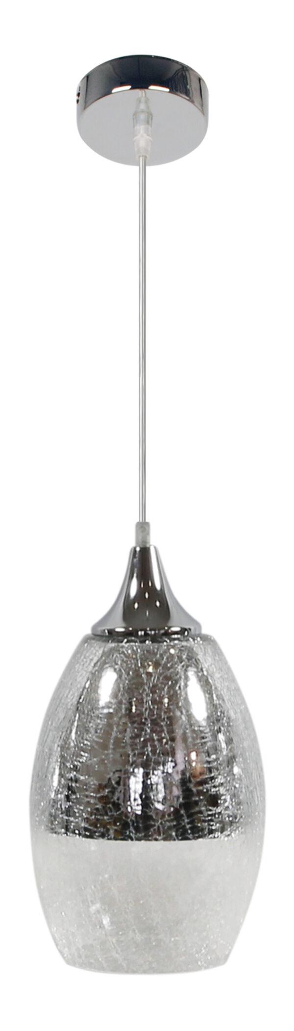 CELIA LAMPA WISZĄCA 16 1X60W E27 SREBRNY - 31-51561