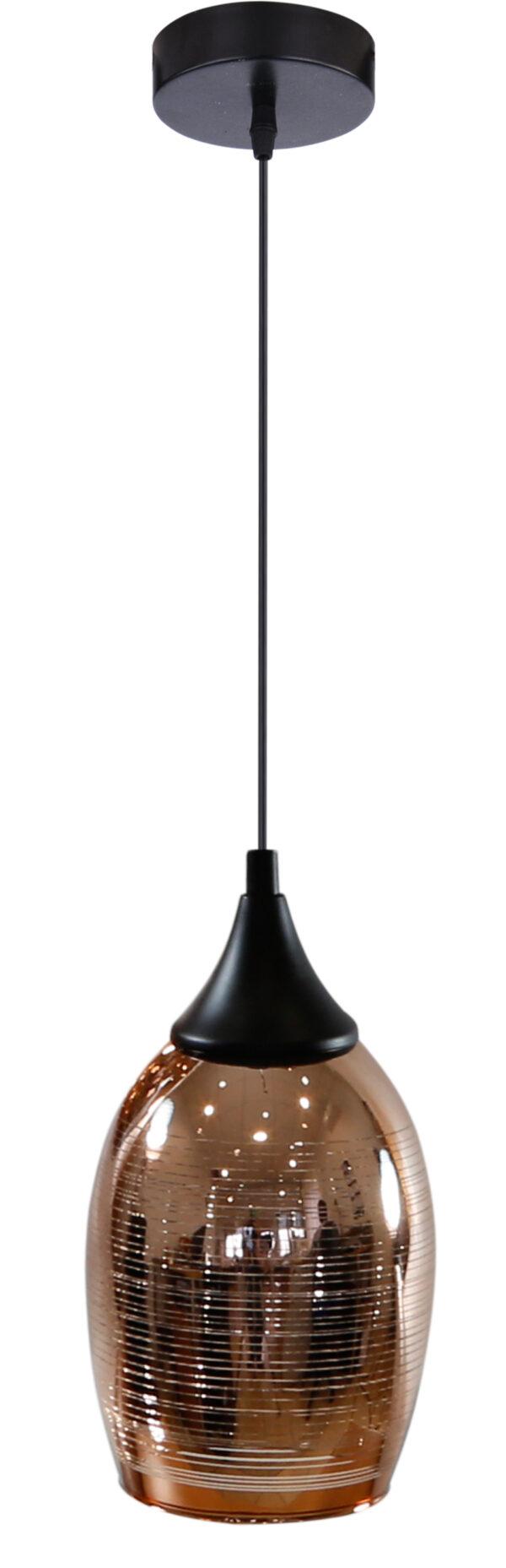 MARINA LAMPA WISZĄCA 14 1X60W E27 MIEDZIANY - 31-51622